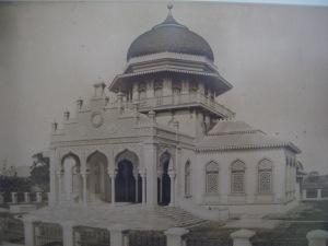 Foto Lama Masjid Raya Baiturrahman